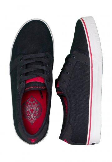 ab7ffabf7f Fallen - Forte Obsidian Red Fury - Shoes - Impericon.com AU