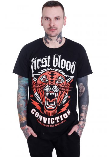 First Blood - Conviction - T-Shirt
