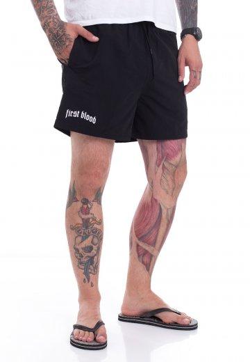 First Blood - FB Logo - Shorts