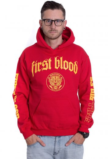 First Blood - That's Life Red - Hoodie