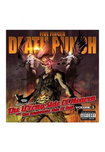 Five Finger Death Punch - The Wrong Side of Heaven and the Righteous Side  of Hell: Volume 1 - CD