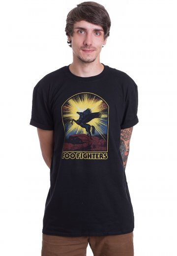 Foo Fighters - Winged Horse - T-Shirt