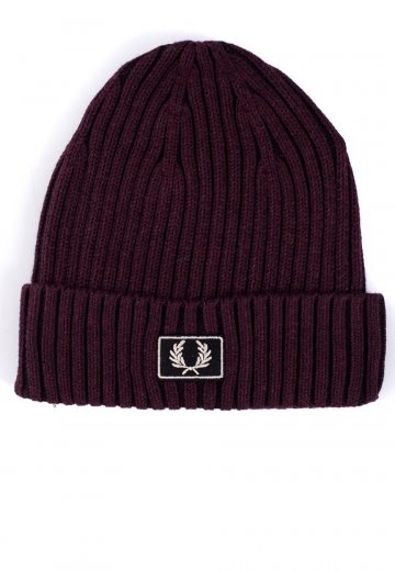 Fred Perry - 2 Tone Cotton Stadium Red/Black - Beanie