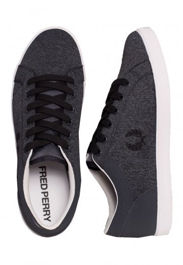 Fred Perry - Baseline Bonded Marl Graphite - Shoes