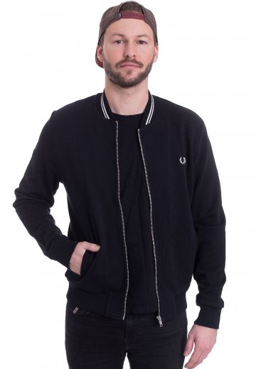 Fred Perry - Bomber Neck Black - Jacket