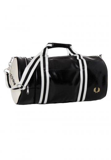 Fred Perry Classic Barrel BlackEcru Bag