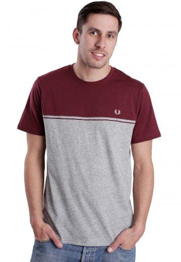148ce5812a23 Fred Perry - Colour Block Port - T-Shirt - Streetwear Shop - Impericon.com  AU