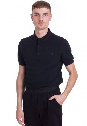 Fred Perry - Contrast Tipped Navy - Polo