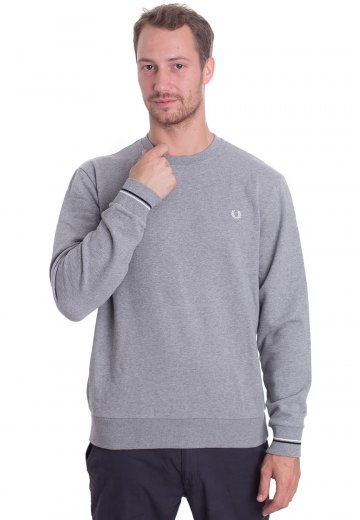 Fred Perry - Crew Neck Steel Marl - Sweater
