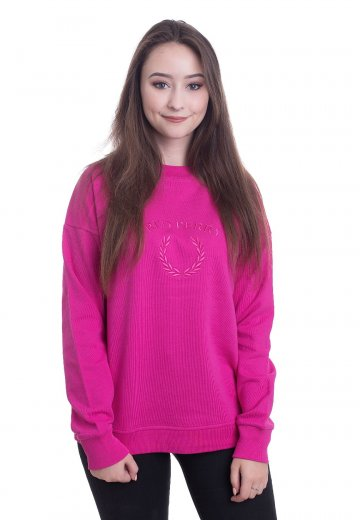 Fred Perry - Embroidered Bubblegum - Sweater