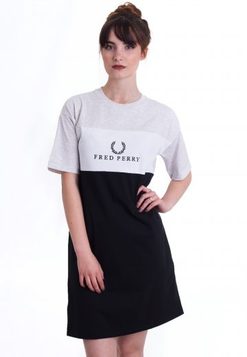 Fred Perry - Embroidered Panel Black - Dress