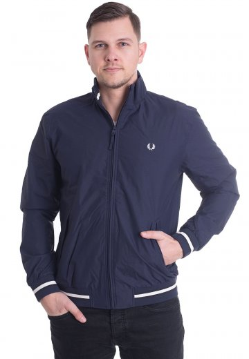 Fred Perry - Funnel Neck Brentham French Navy - Jacket