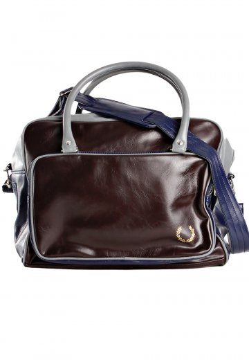 80831d721e Fred Perry - Holdall Dark Chocolate - Bag - Streetwear Shop - Impericon.com  US