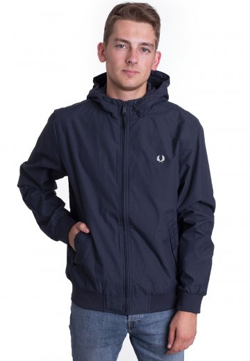 Fred Perry - Hooded Brentham Dark Airforce - Jacket