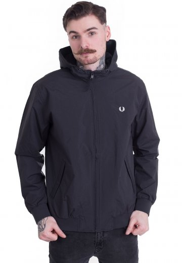 Fred Perry - Hooded Brentham Navy - Jacket