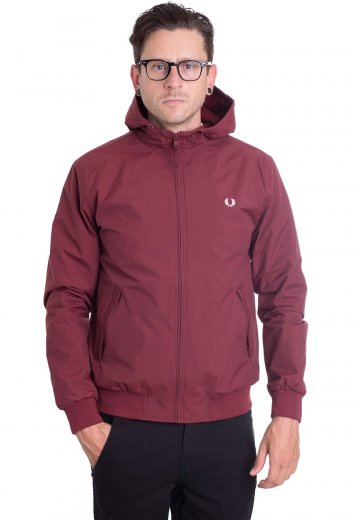 Fred Perry - Hooded Brentham Rosewood - Jacket