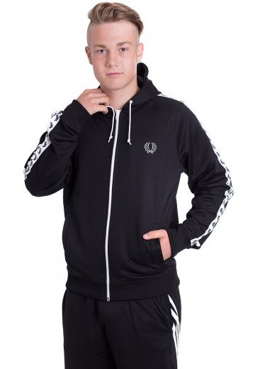 986301157 Fred Perry - Hooded Taped - Track Jacket