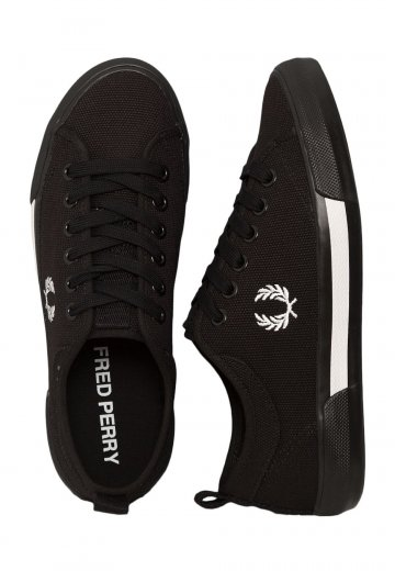 Fred Perry - Horton Canvas Black - Shoes