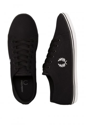 Fred Perry - Kingston Twill Black - Shoes