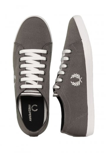 Fred Perry - Kingston Two Tone Black/Snow White - Shoes