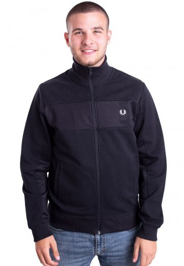 Fred Perry - Panelled Navy - Track Jacket