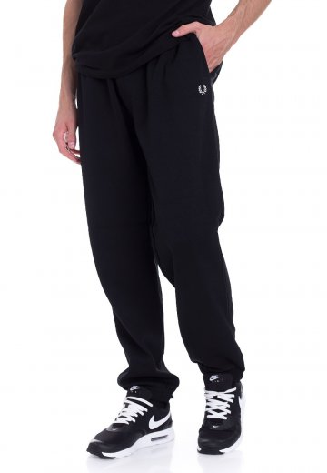 8195883b2f30 Fred Perry - Pique Track Black - Pants - Streetwear Shop - Impericon.com AU