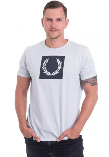 Fred Perry - Printed Laurel Wreath Pearl - T-Shirt