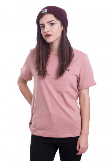 Fred Perry - Ringer Grey Pink - Girly