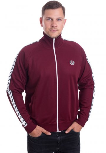 Fred Perry - Taped Tawny Port - Track Jacket