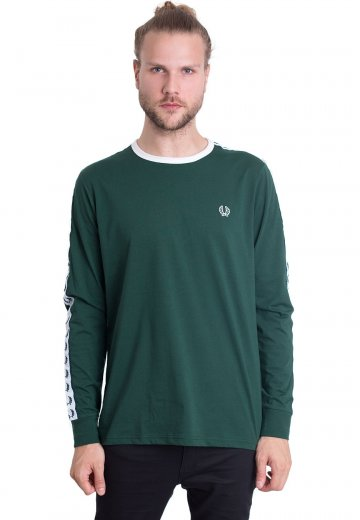 Fred Perry - Taped Ringer Ivy - Longsleeve