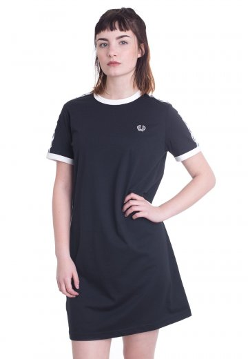 Fred Perry - Taped Ringer T-Shirt Navy - Dress
