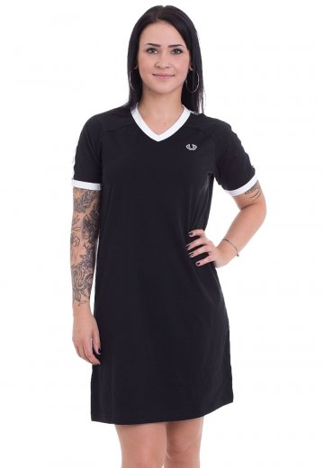 Fred Perry - Taped V-Neck Ringer Black - Dress