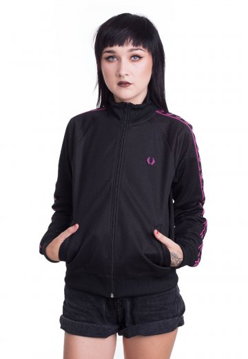 Fred Perry - Taped Track Black - Track Jacket