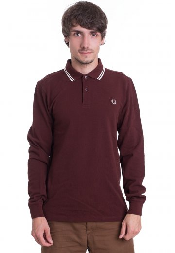 Fred Perry - Twin Tipped England Red/Ecru - Longsleeve