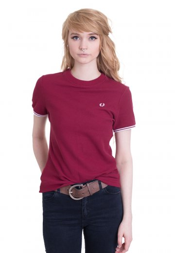 Fred Perry - Twin Tipped Claret - Girly