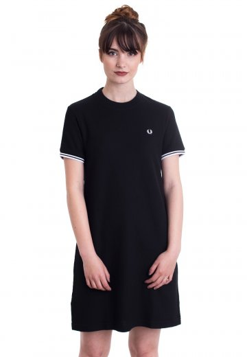 Fred Perry - Twin Tipped Black - Dress