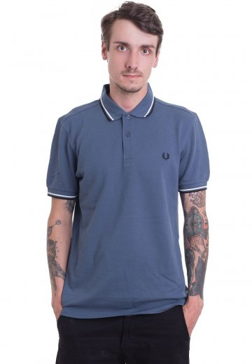 Fred Perry - Twin Tipped Midnight Blue - Polo