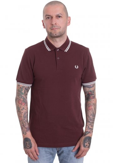Fred Perry - Twin Tipped Stadium Red - Polo
