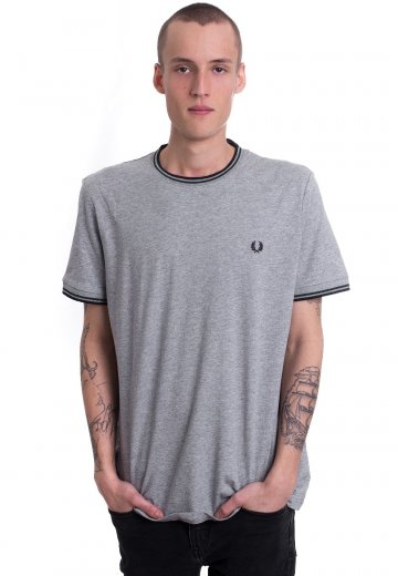 Fred Perry - Twin Tipped Steel Marl - T-Shirt