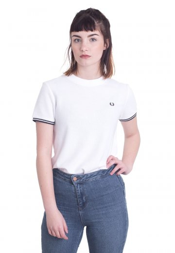 Fred Perry - Twin Tipped White - Girly