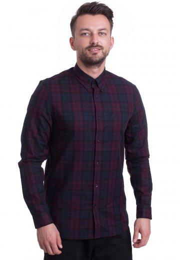 Fred Perry - Winter Tartan Mahogany - Shirt