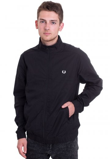 Fred Perry - Woven Shirt Black - Jacket
