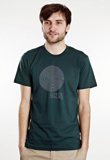 competitive price 52851 322cd Freude am Tanzen - Schütze Dein Vinyl Forest Green - T-Shirt