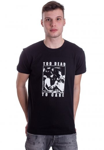 Fuchsteufelswild - Too Dead To Care Black - T-Shirt