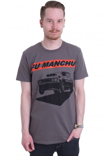 Fu Manchu - Muscles Charcoal - T-Shirt