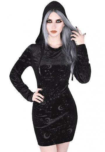 Killstar - Galatea Tunic Back - Hoodie