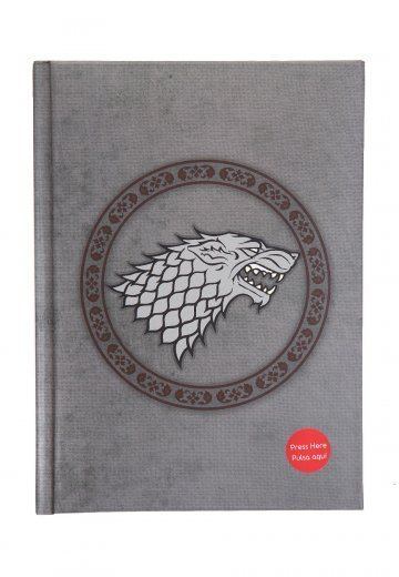 Game Of Thrones - Stark With Light - Notebook