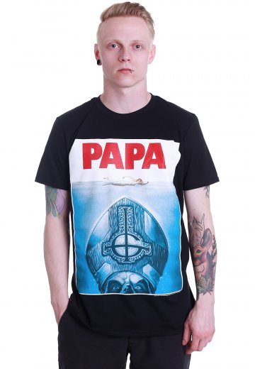 4ee6ad8bd054 Ghost - Papa Jaws - T-Shirt - Official Hard And Heavy Merchandise Shop -  Impericon.com Worldwide