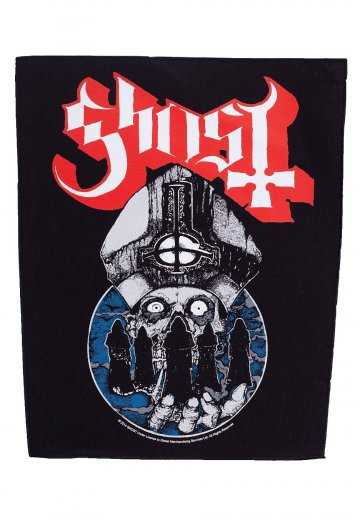 Ghost - Papa Warriors - Backpatch