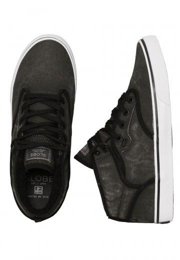 b9f93ca332d Globe - Motley Mid Black Wash - Shoes - Impericon.com Worldwide